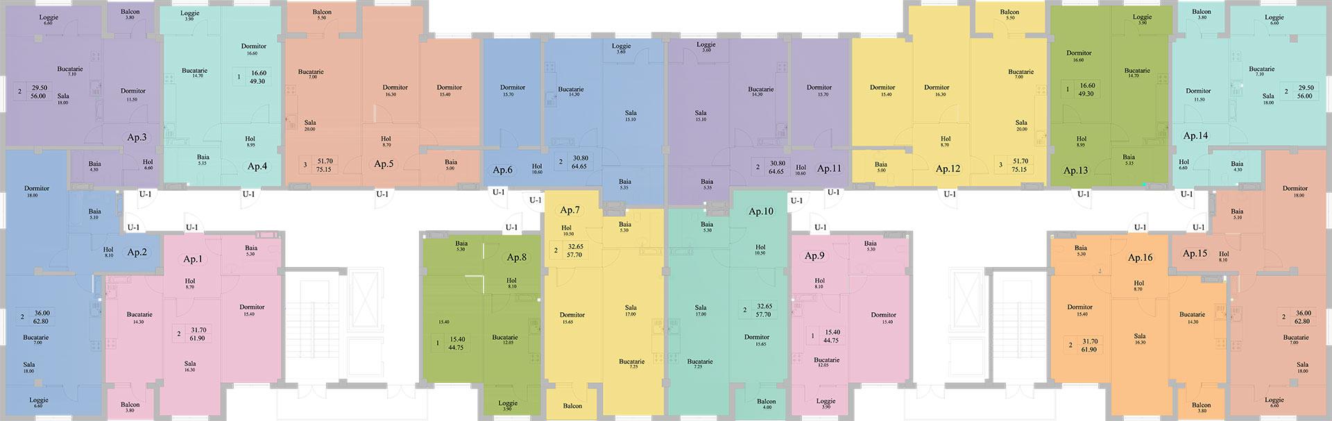 Floor plan Artima